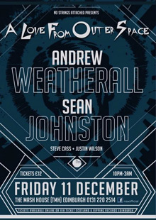 Andrew Weatherall & Sean Johnston (SOLD OUT)
