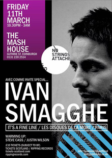 No Strings Attached presents Ivan Smagghe