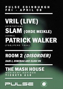 Pulse featuring VRIL, Orde Meikle & Patrick Walker