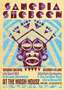 Samedia Shebeen featuring DJ Cal Jader