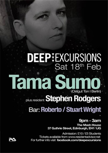 Deep Excursions featuring Tama Sumo