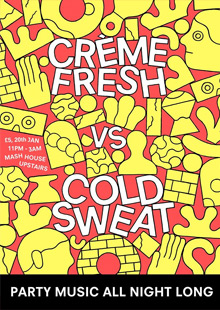 Creme Fresh vs Cold Sweats