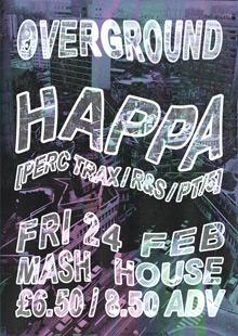 Overground featuring Happa