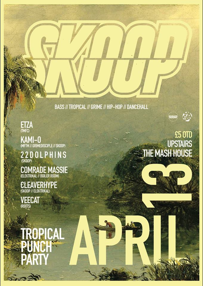 SKOOP // TROPICAL PUNCH PARTY (Sponsored by Wray & Nephew)