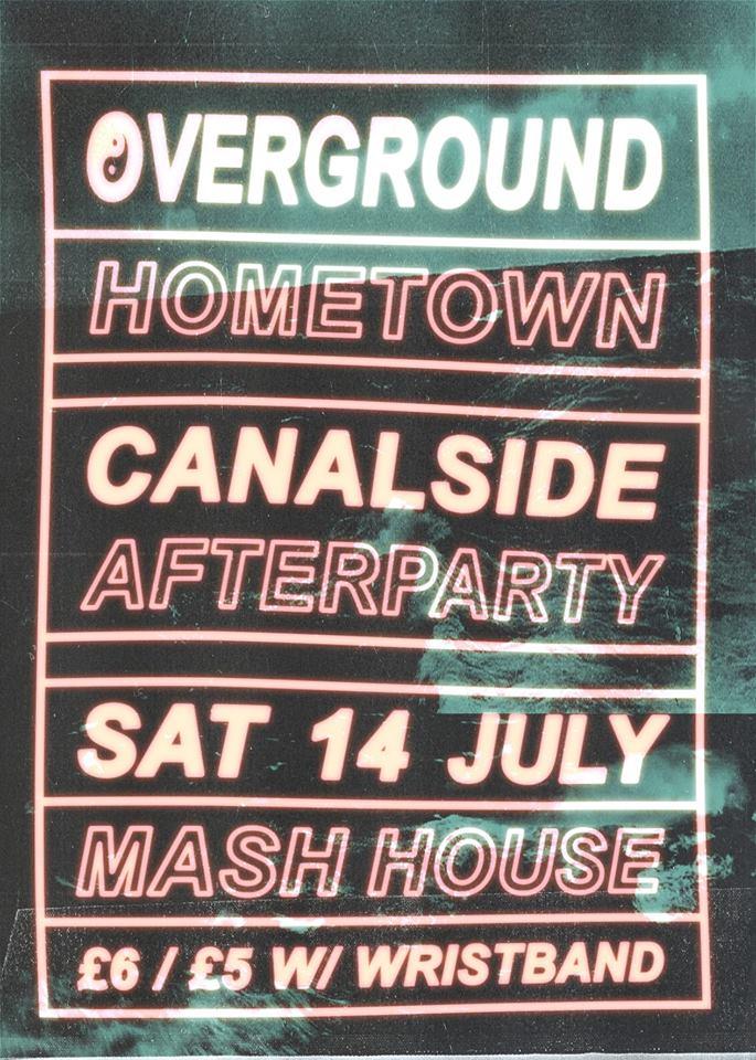 ᴏᴠᴇʀɢʀᴏᴜɴᴅ ➫ Canalside Afterparty