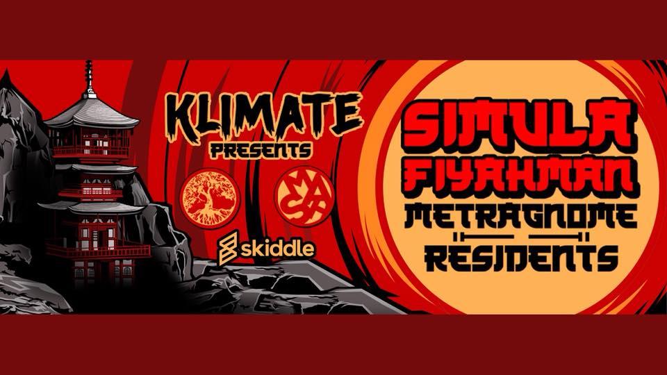 Klimate Presents - Simula, Fiyahman, Metragnome