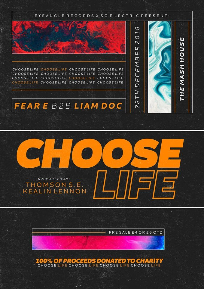 Choose Life Edinburgh: Fear-E (DABJ)