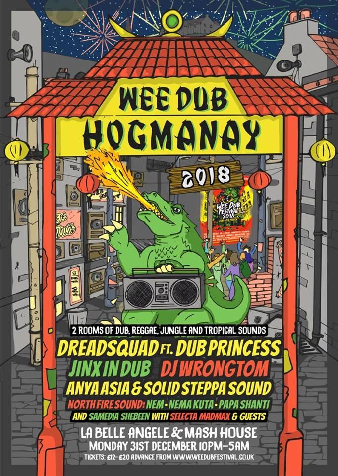 Wee Dub Hogmanay 2018