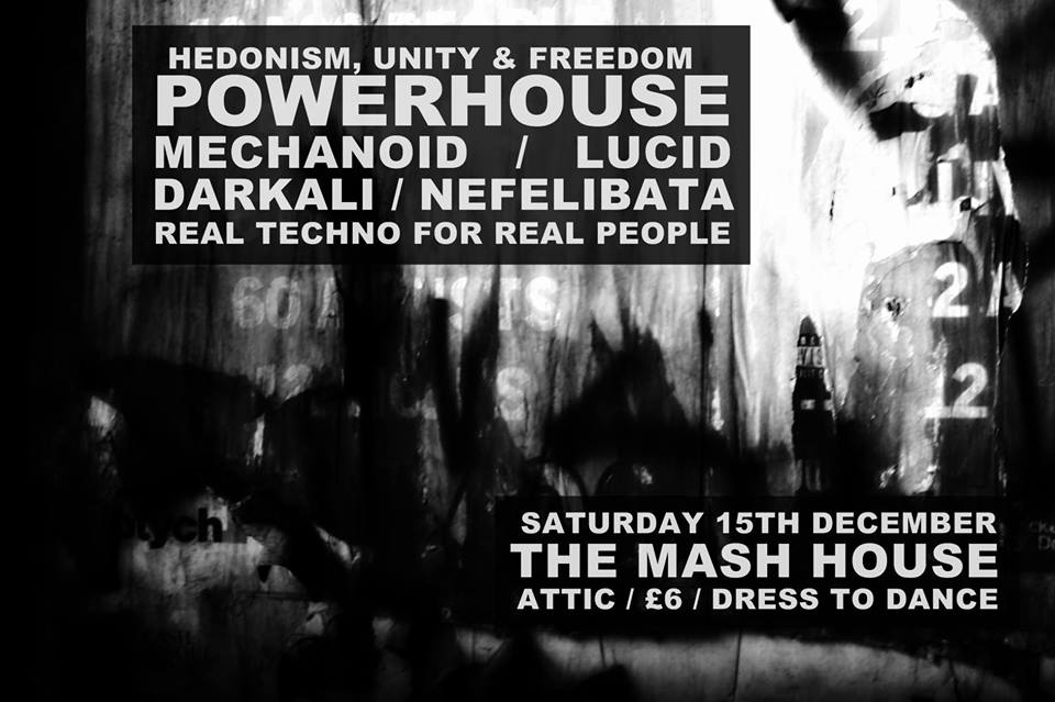 Powerhouse: Hedonism, Unity & Freedom