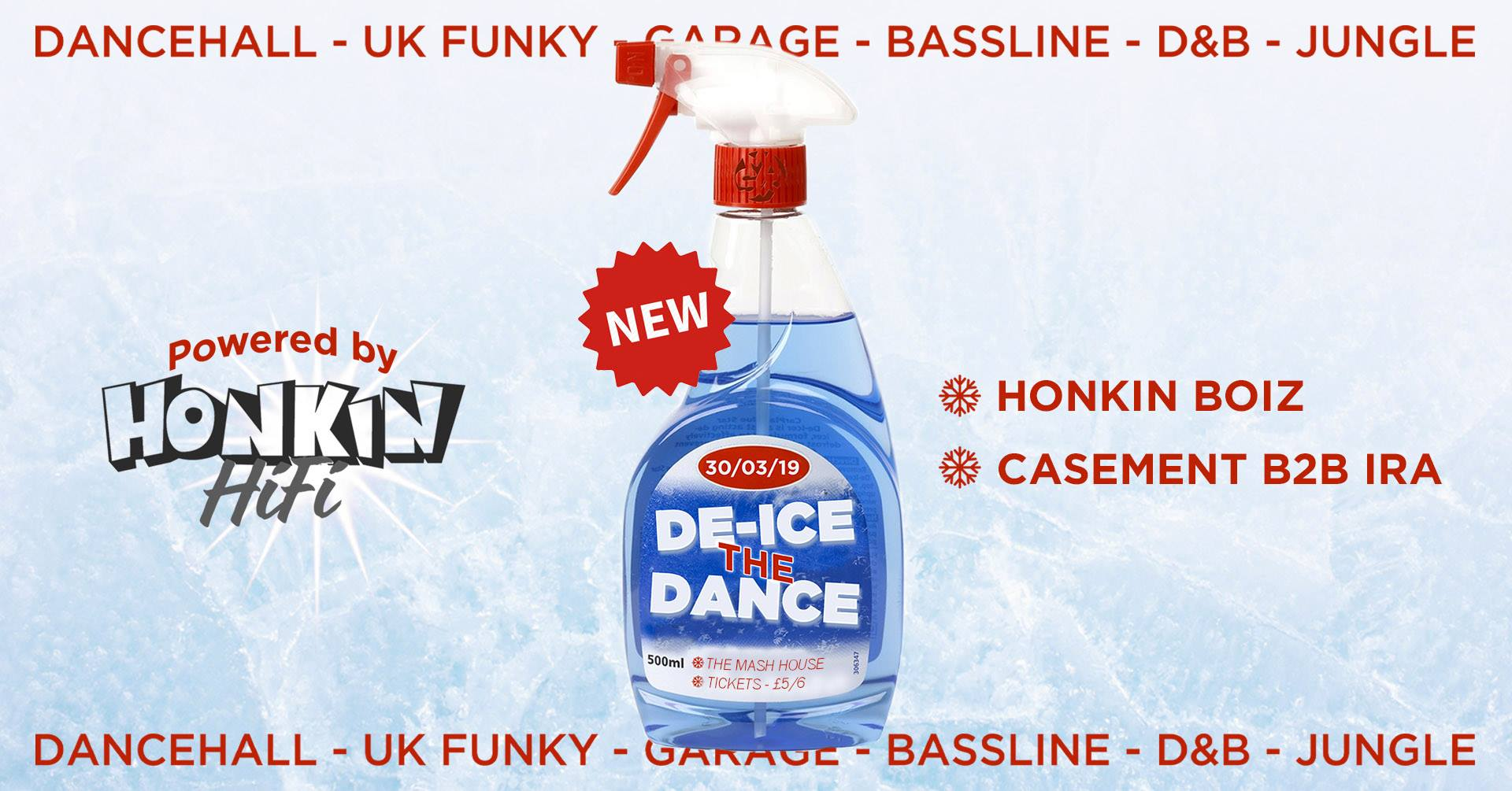 De-Ice The Dance
