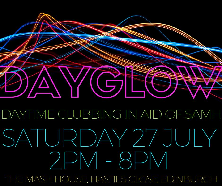 Dayglow for SAMH 2019