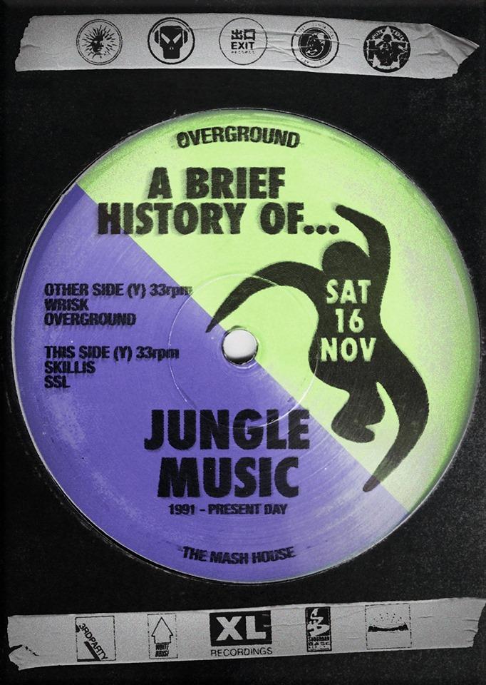 A Brief History of Jungle ⍫ ᴏᴠᴇʀɢʀᴏᴜɴᴅ ⍫ Wrisk B2B Skillis [SSL]