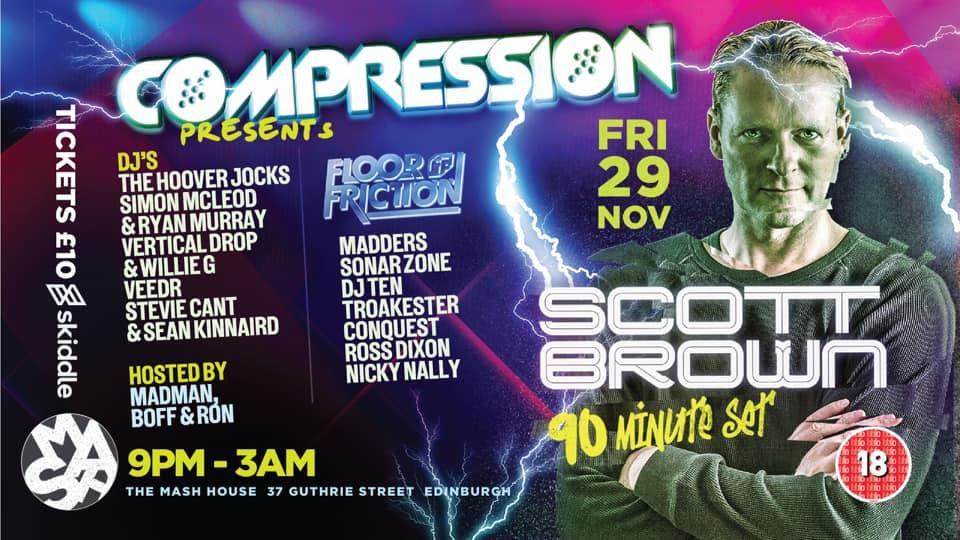 Compression & Floor Friction Presents Scott Brown *Cancelled*