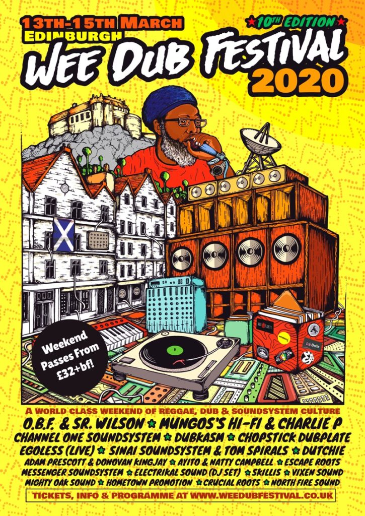 Wee Dub Festival 2020 - 10th Edition!